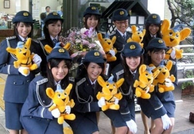 japanese-women-police-force Top 10 Most Attractive Women Police Forces in World