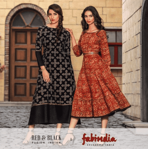 indian-fashion-brands-2-498x500 Top 10 Women Clothing Brands in India 2018 List