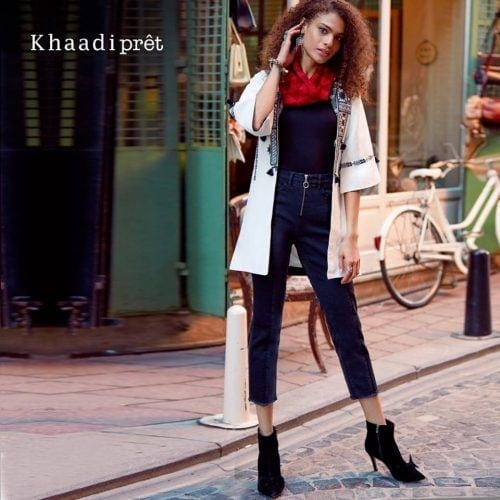 khaadi-jeans-for-pakistani-women-500x500 Top 10 Jeans Brands for Girls in Pakistan with Price