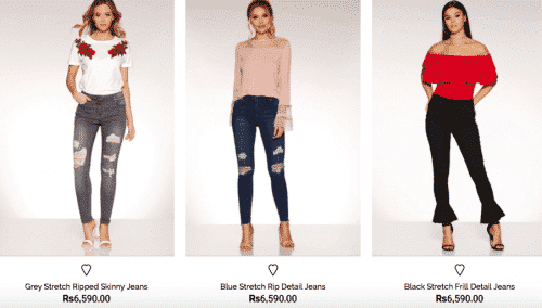 quiz-jeans-pakistani-girls-500x284 Top 10 Jeans Brands for Girls in Pakistan with Price