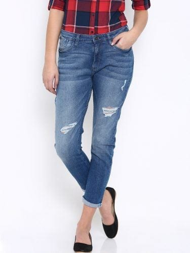 Denim-Blue-Jeans-for-Women-375x500 Top 10 Jeans Brands for Women in India with Price