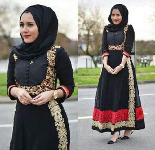 Latest-hijab-ideas-for-stylish-women-500x484 15 Modest Ways for Women To Wear Shalwar Kameez Fashionably