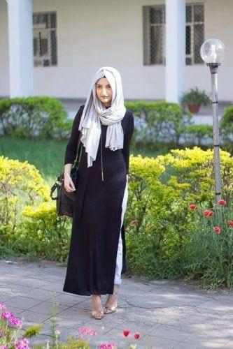 hijab-with-shalwar-kameez-14-333x500 15 Modest Ways for Women To Wear Shalwar Kameez Fashionably