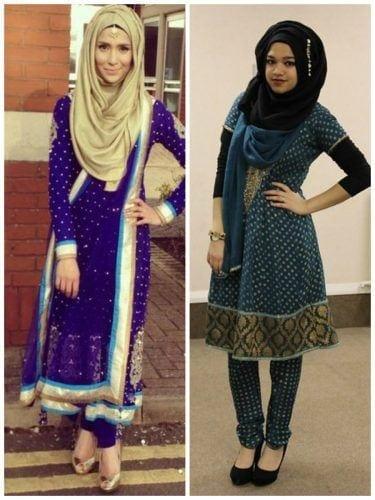 hijab-with-shalwar-kameez-3-375x500 15 Modest Ways for Women To Wear Shalwar Kameez Fashionably