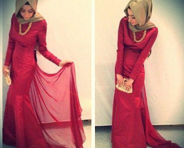 best styles of hijab with gowns for women (5)