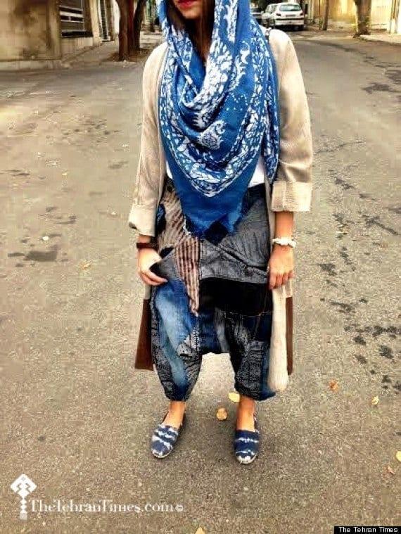 13 20 Best Iranian Hijab Style-Step by Step Irani Hijab Tutorial