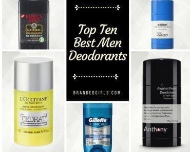Top Ten Best Deodorants for Men (1)