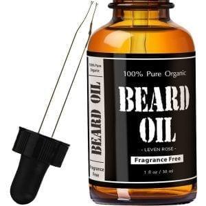 leven-rose-fragrance-free Top Ten Best Beard Oil Brands in 2018