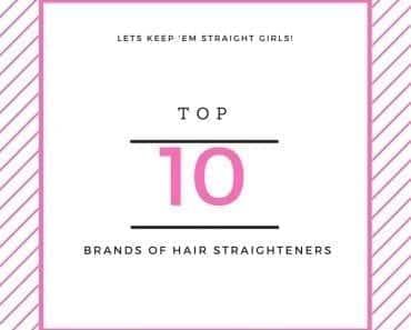 top brands of hair straightener