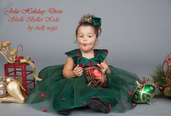 Ankara-Dresses-for-Christmas Ankara Styles for Babies-19 Adorable Ankara Dresses For Kids 2018