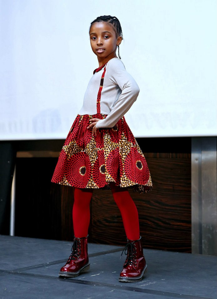 Ankara-Dresses-for-Fall Ankara Styles for Babies-19 Adorable Ankara Dresses For Kids 2018