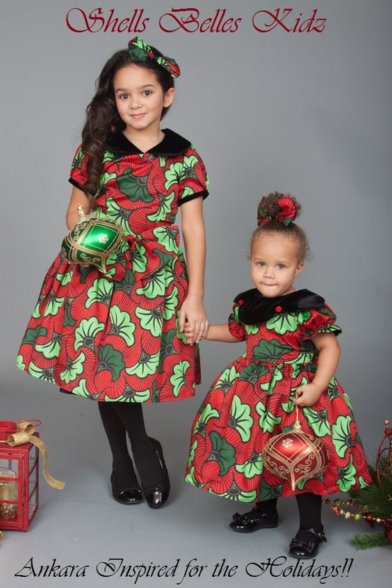 Ankara-Dresses-for-Wedding-Occasions Ankara Styles for Babies-19 Adorable Ankara Dresses For Kids 2018