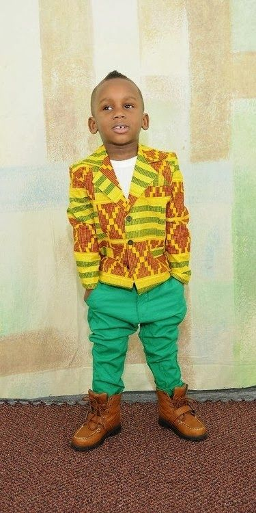 Ankara-Style-Jackets-for-Baby-Boys Ankara Styles for Babies-19 Adorable Ankara Dresses For Kids 2018