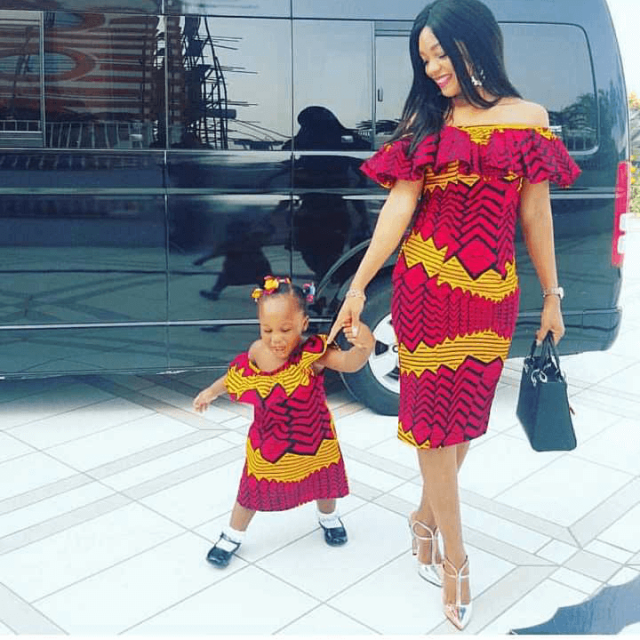 Mommy-and-Kids-Ankara-Styles Ankara Styles for Babies-19 Adorable Ankara Dresses For Kids 2018