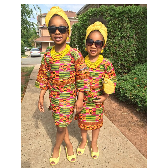 Vibrant-Colors-of-Ankara-Dresses Ankara Styles for Babies-19 Adorable Ankara Dresses For Kids 2018