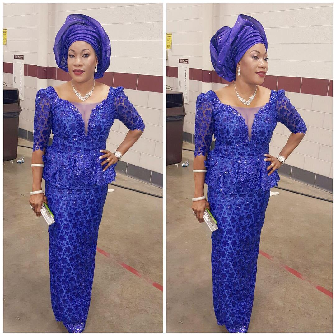 Aso Oke Dress Designs