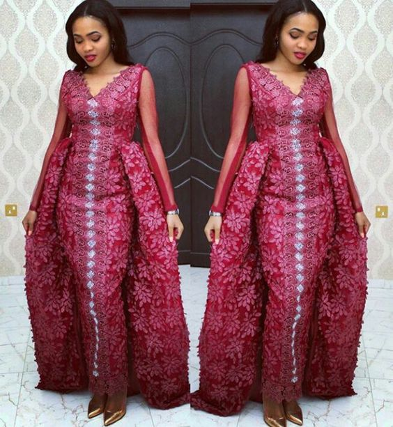 2018 Aso-Ebi styles–18 Latest Lace and Asoebi Designs ...