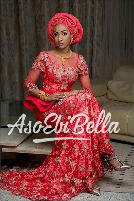 2018 Aso Ebi Styles20 Latest Lace And Asoebi Designs These Days