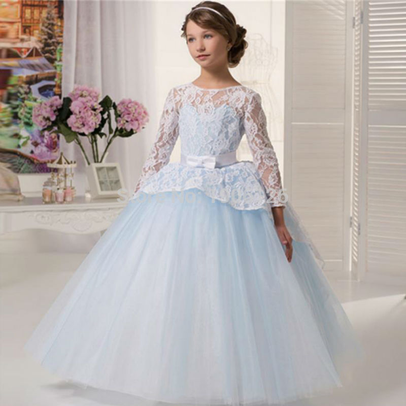 Princess-Style-Frocks Frock Designs for Little Girls-17 Latest Frock Styles for Kids 2018