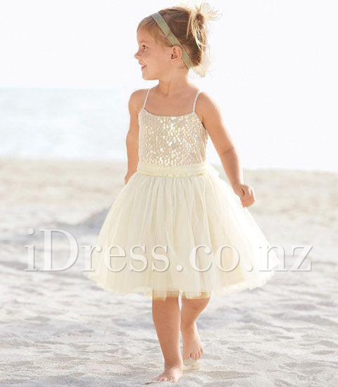 Strappy-Beach-Frocks Frock Designs for Little Girls-17 Latest Frock Styles for Kids 2017