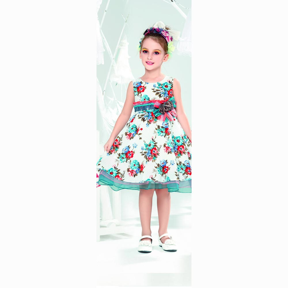 Summer-Frocks Frock Designs for Little Girls-17 Latest Frock Styles for Kids 2018