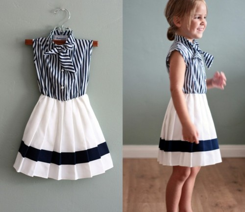 Western-Frock-Designs Frock Designs for Little Girls-17 Latest Frock Styles for Kids 2017