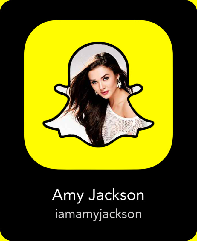 AmyJackson Indian Celebrity Snapchats-25 Indian Celebrity Snapchat Accounts to follow