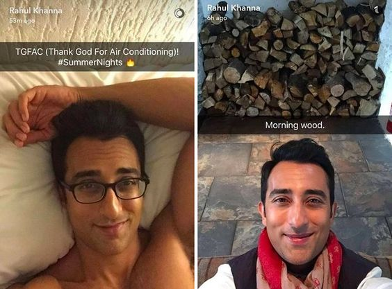 rahun Indian Celebrity Snapchats-25 Indian Celebrity Snapchat Accounts to follow