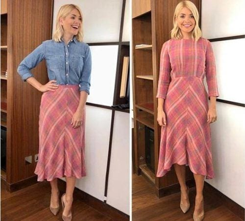 Holly-Willoughby-Outfit-1786363-500x450 Top 30 Clothing Brands That All Celebrities Love To Wear