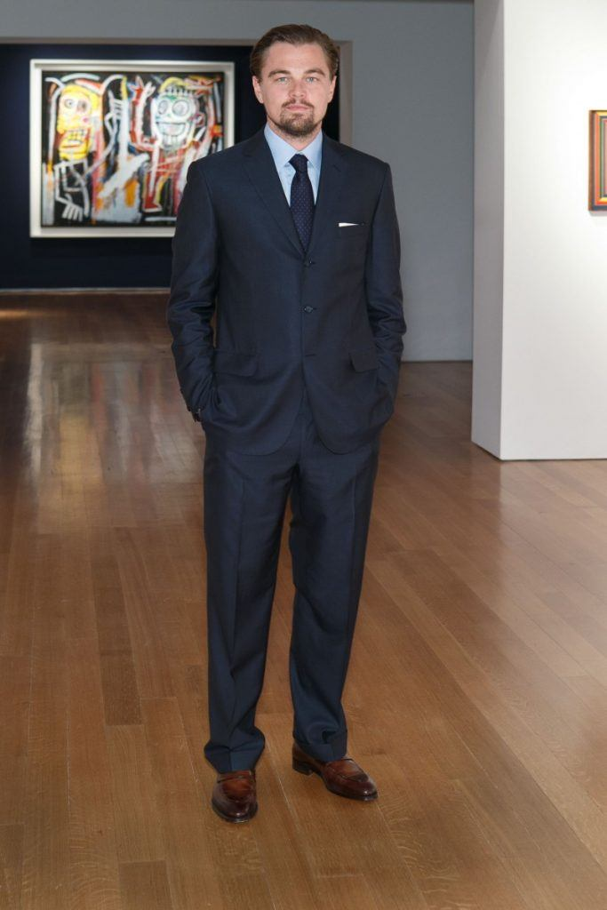Leonardo-DiCaprio-wearing-a-Brioni-suit-at-the-Christies-Gala-Dinner-800x1199-683x1024 Top 30 Clothing Brands That All Celebrities Love To Wear