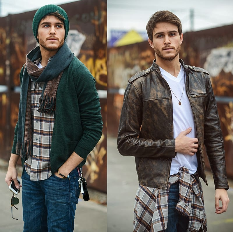 Adam Gallagher street style