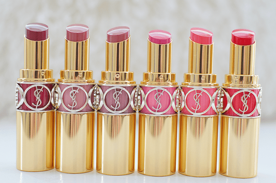 YSL-rouge-volupte-lipsticks-900x598 Top 18 Most Expensive Cosmetic Brands In The World 2019