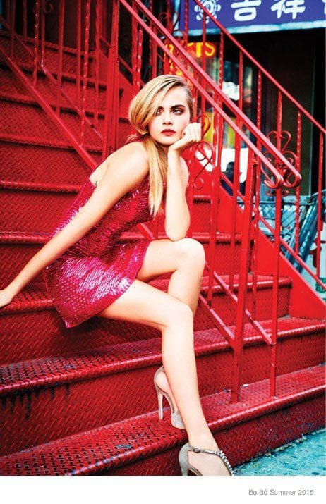 a491b5889786ec279395902bf272ff44 25 Most Stylish Cara Delevingne Summer Outfits This Year