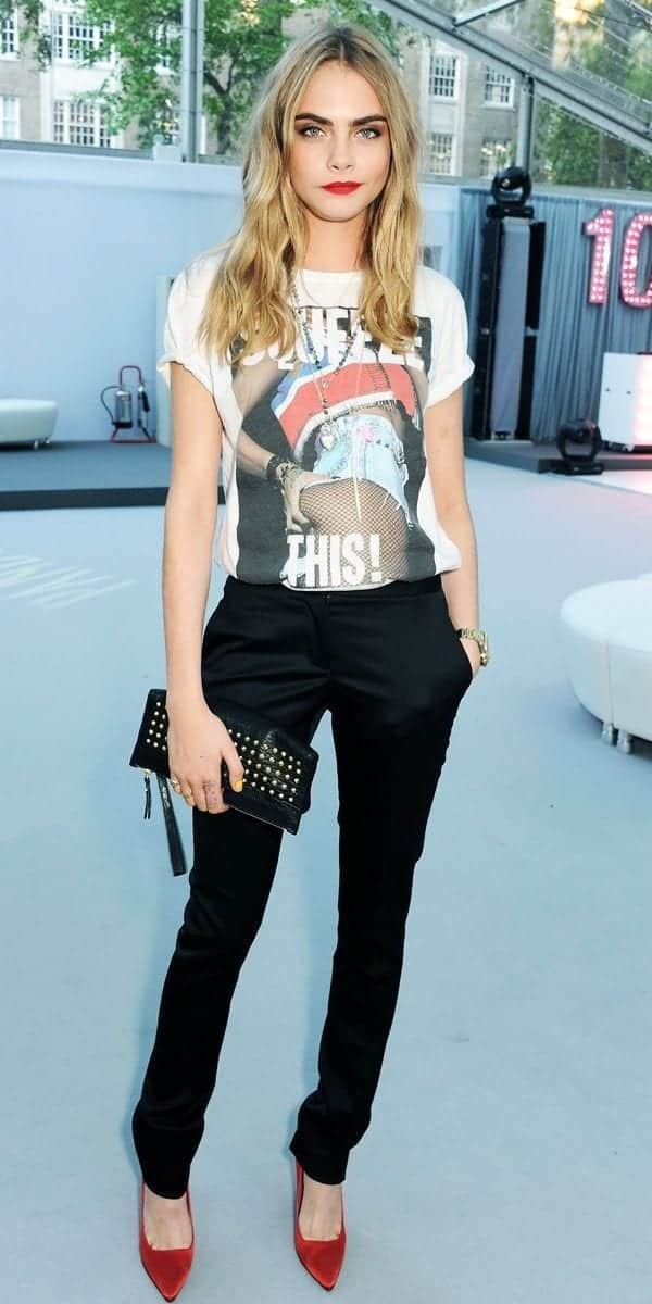 ba234adf78861df9211f0412367e6b68 25 Most Stylish Cara Delevingne Summer Outfits This Year