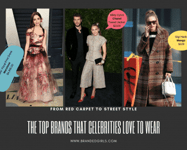 what brands do celebrities wear