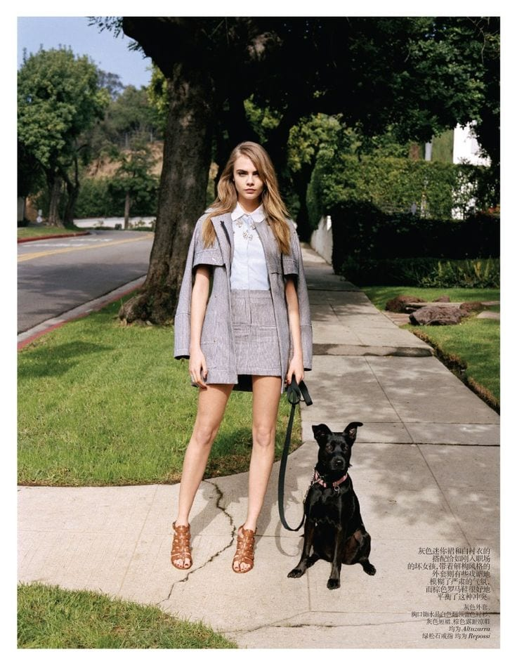d497129811fbb6faede3100e42c344ea 25 Most Stylish Cara Delevingne Summer Outfits This Year