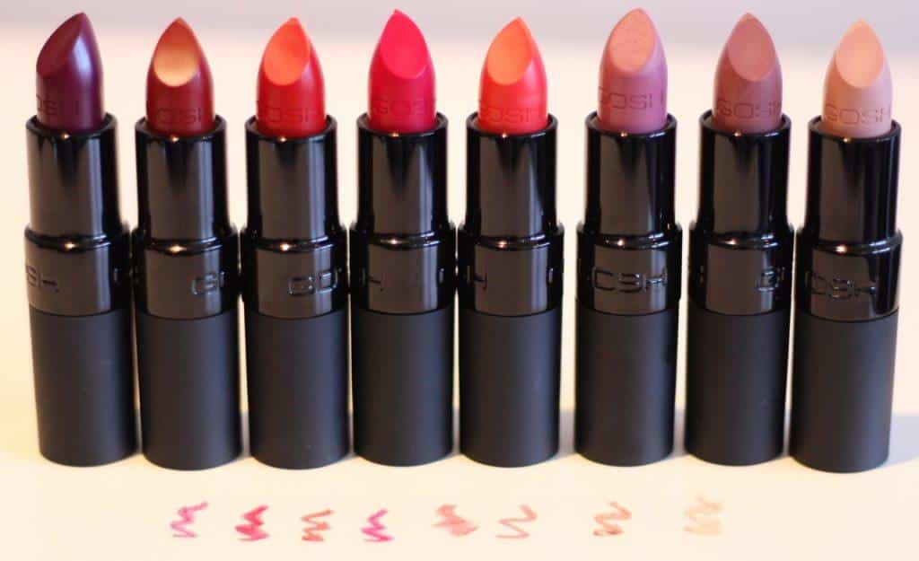 gosh_aw15_velvet_touch_lipstick-6-1024x625 The Top 40 Lipstick Brands 2019 Every Girl Should Own