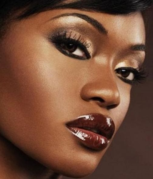 l2 Simple Party MakeUp Tips for Black Women to Look Gorgeous