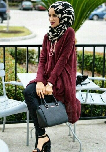 179a0e063ece1aae2dfec38ed2f550ef 15 Latest Hijab Style Fashion Ideas to Follow These Days