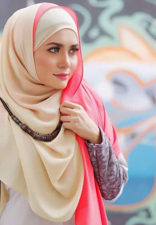 7aade5e3440680d541465fa274469738 17 Cute Hijab Styles for Round Face With Simple Tutorials