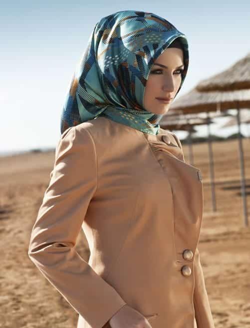 Arabian-Hijab-Designs-fashion-on-women 15 Latest Hijab Styles to Follow These Days
