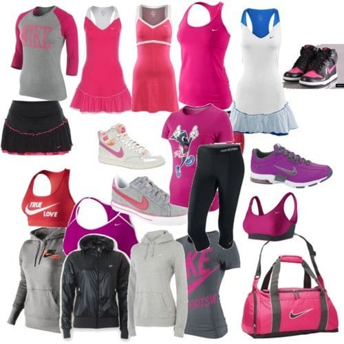 Awesome-nike-outfits-women Winter Workout Outfits-15 Cute Winter Gym Outfits for Women