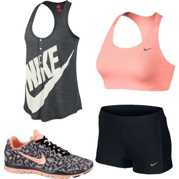 Branded-Workout-sliders 15 Cool Summer Sports /Workout Outfits For Women