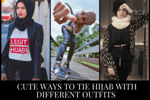 18 Cute Ways to Tie Hijab Fashionably with Different Outfits