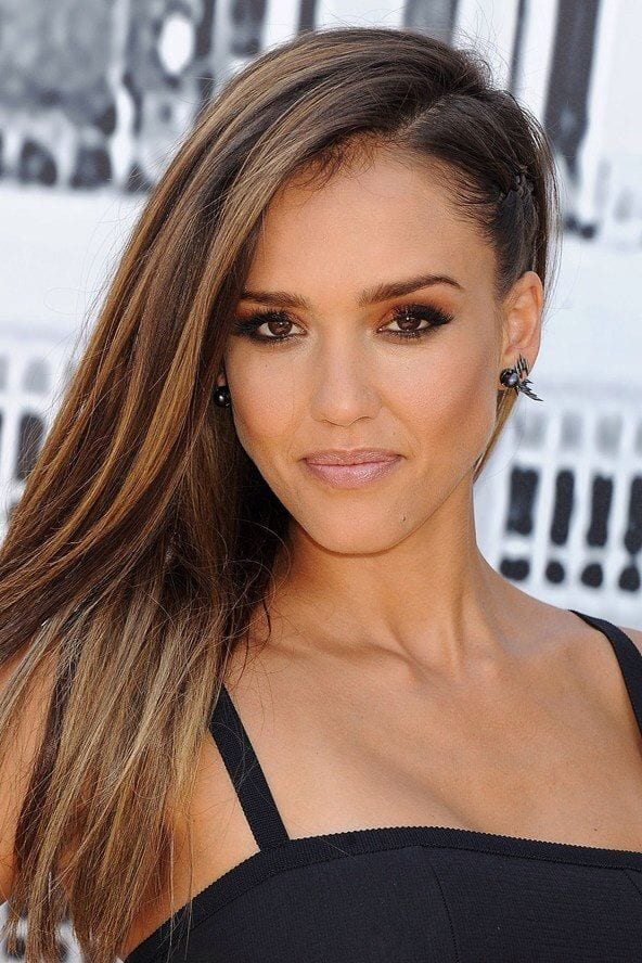Jessica-Alba-Summer-makeup-Style 9 Simple Summer Makeup Tips For A Fresh And Natural Look