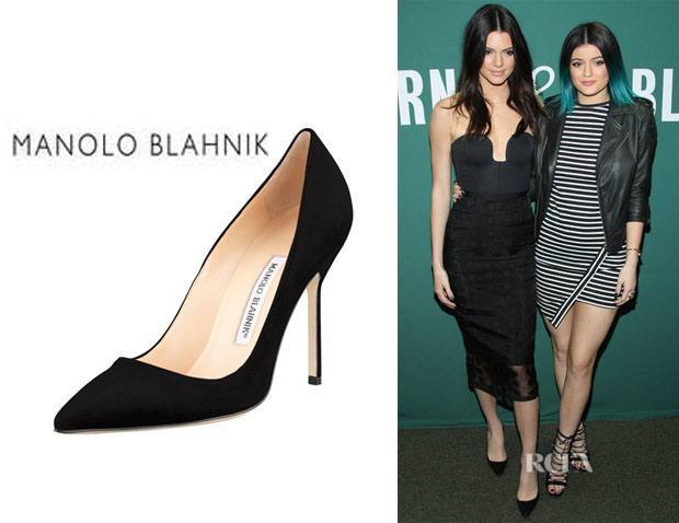Kendall-Jenners-Manolo-Blahnik-Pumps 10 Most Expensive Women Shoe Brands These Days