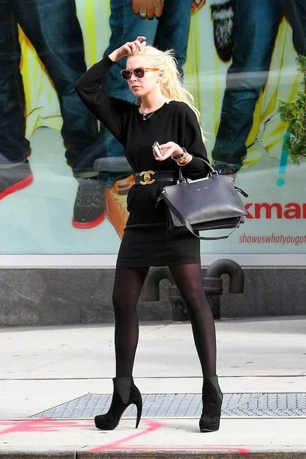 Lindsay-Lohan-Walter-Steiger-Platform-Ankle-Boots 10 Most Expensive Women Shoe Brands These Days