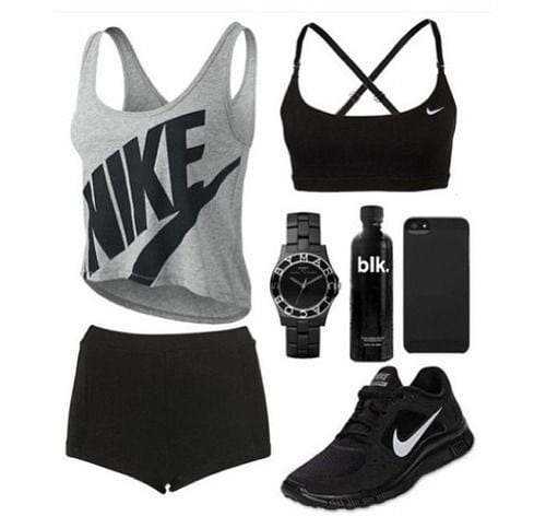 Summer-fitness-wear 15 Cool Summer Sports /Workout Outfits For Women