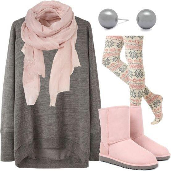 Ugg-outfits-for-teens 17 Latest Style Winter Outfit Combinations for Teen Girls