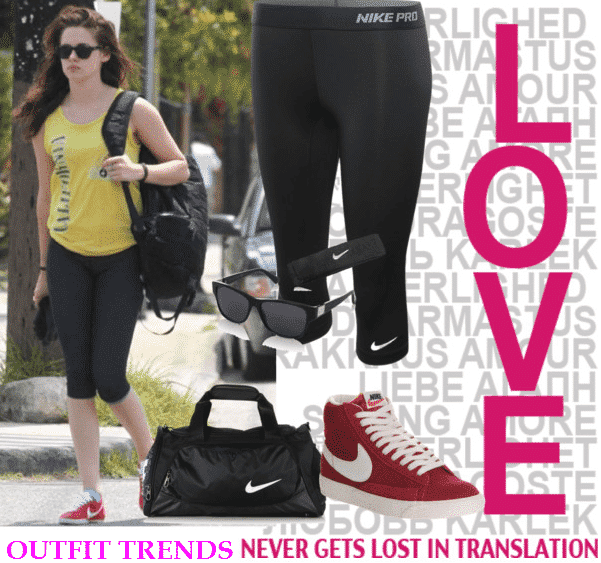 celebrities-workout-Brands 15 Cool Summer Sports /Workout Outfits For Women